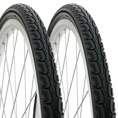 Pair of 27 x 1 1/4 ANTI-PUNCTURE Road bike tyre - commuting 32-630 Protection