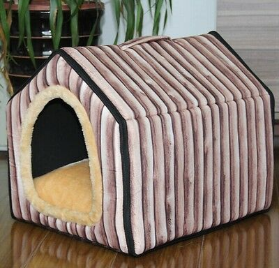 New Pet Dog Cat Tent House Bed 4 Types Mat is removable Small,Medium,Large