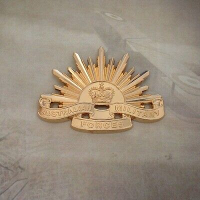 Rising Sun Cap Badge - 5th Version | 1954 | Korea | Vietnam