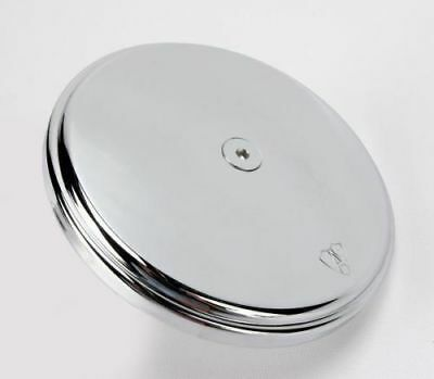 Arlen Ness Chrome Smooth Air Cleaner Outlet Cover - 18-760 26-2139 1014-0091