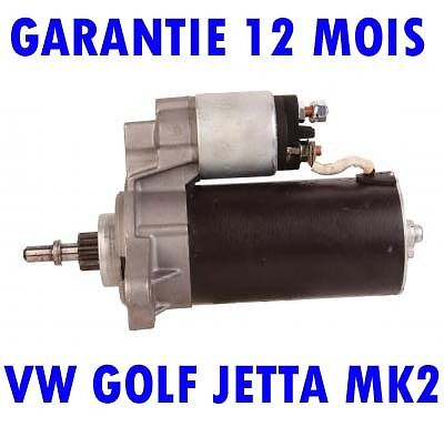 Vw Golf Jetta Mk2 1.6 1983 1984 1985 1986 > 1991 Remanufactured Demarreur Moteur
