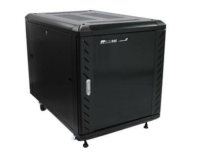 StarTech 12U 36 inch Knock-Down Server Rack Cabinet with Casters