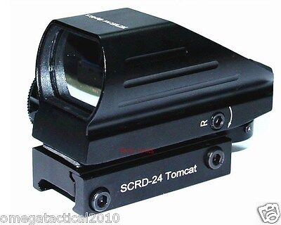 Vector Optics Tactical Tomcat 1x22x33 Multi Reticle Compact Red Green Dot Sight