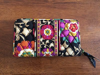 NWT- Authentic Vera Bradley Retired Pattern - Accordion Wallet in Suzani