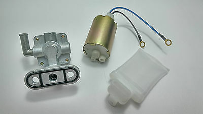 97-00 Gsxr 600 & 96-97 Gsxr 750 Fuel Pump, Petcock, Strainer/filter  *srad*