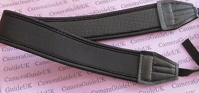 Neoprene Neck Strap for All Nikon Canon Sony Fuji Pentax Digital SLR DSLR Camera