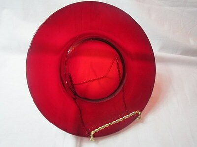 Arcoroc Ruby Red Salad Plate France Luminarc