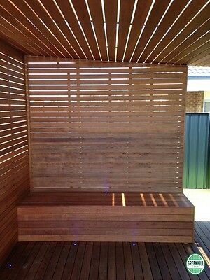 MERBAU SCREEN PANELS 900x1800mm, 1200x1800mm, 900x2400mm