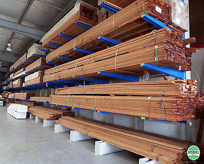 MERBAU DECKING 90x19 mm SELECT GRADE KD SET LENGTHS From 2.4 - 2.7 m