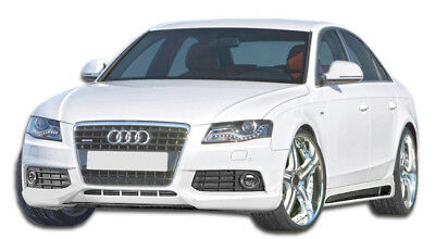2009-2012 Audi A4 4DR Wagon R-1 Front Lip Under Spoiler Air Dam-1 Piece Body Kit
