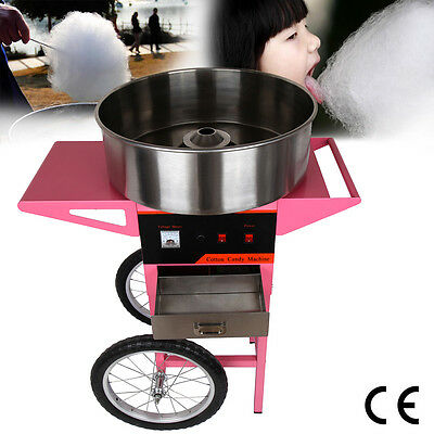 1100W Cotton Candy Machine / Cover Fairy Floss Maker Festival Party Supplies