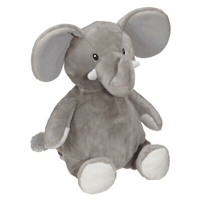Embroider Buddy - Elford Elephant - Grey 16 Inch
