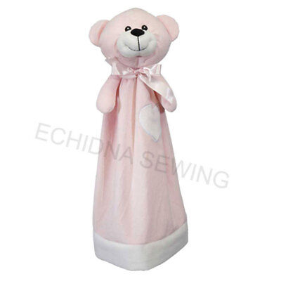 Embroider Buddy - Blankey Bear - Pink 20 Inch