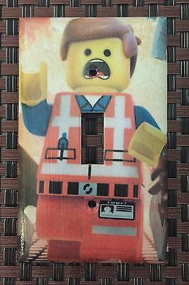Lego Movie Custom Light Switch Plate Cover Choose Size Cover