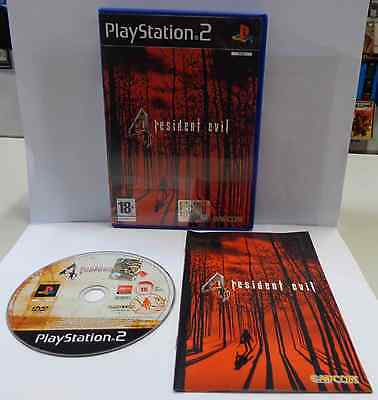 Console Game Gioco SONY Playstation 2 PSX2 PS2 PAL Play ITALIANO RESIDENT EVIL 4