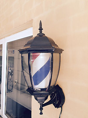barber pole outdoor light design