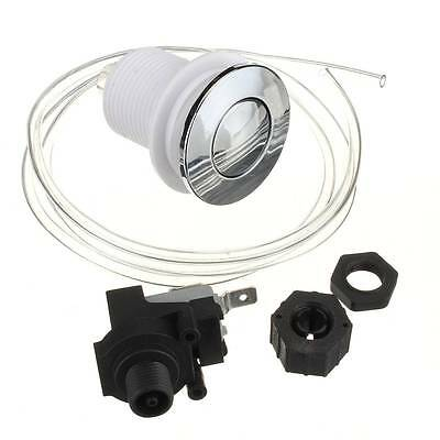 Waste Garbage Disposal Disposer Air Switch Button With Air Hose & Self-Lock Set