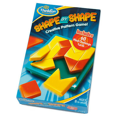 Shape By Shape Think Fun Game - Pattern And Matching Skills Game