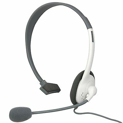 Headset Headphones with Mic Microphone for Xbox 360 Controller Xbox360