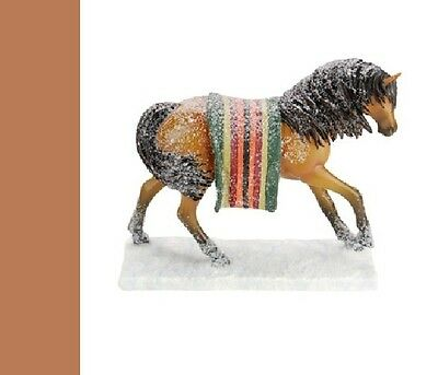 Trail of the Painted Ponies - Wounded Knee 3E/ Figurine, New in Box