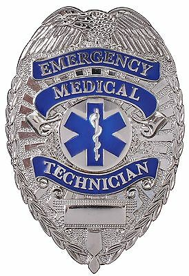 New Rothco 1927 Deluxe EMT Emergency Medical Technician ID Badge w/Star of Life