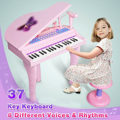 Kid Child Musical Instrument Piano Organ Mp3 Microphone Play Set Educational Toy