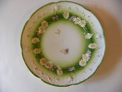 B.R.C. Voltaire Germany floral plate 6 7/8 inch diameter