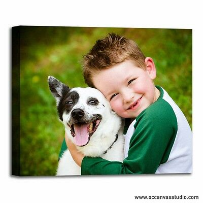Personal Photo Print to Canvas! Modern gallery wrapped wall decor!