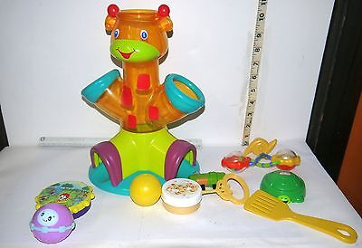 Toys/Assorted Lot of 10 Different/ Disney Tigger Rattle, McDonalds, Little Tikes