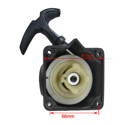 Recoil Pull Start Starter Plate Assembly 47cc 49cc Engine Strimmer Lawnmower