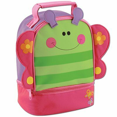 Stephen Joseph Lunch Pals Butterfly Lunch Box , New, Free Shipping