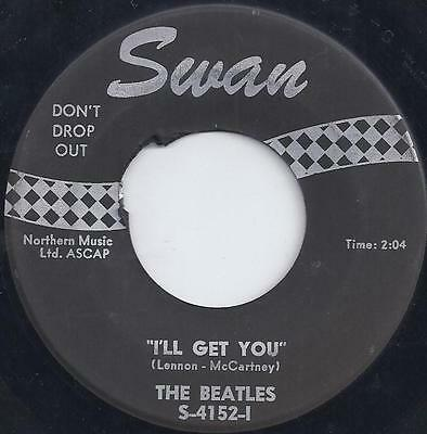 RARE SWAN LABEL #4152~45rpm~THE BEATLES~ She Loves You~~~I'll Get You