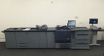 Konica Minolta Bizhub Press C7000 Copier Printer Scanner LCT Pro 80 Fiery 630k