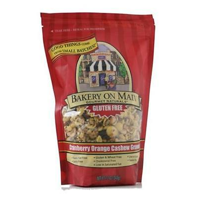 Bakery On Main 33865 Cranberry Orange Cashew Granola Gluten Free