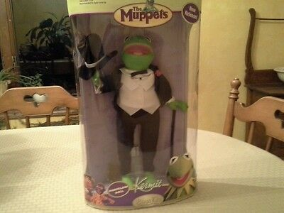 Brass Key The Muppets Kermit the Frog Porcelain Doll NEW Unopened Box
