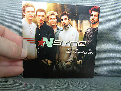 NSYNC_This I Promise You_used CD-s_ships from AUSTRALIA_L5