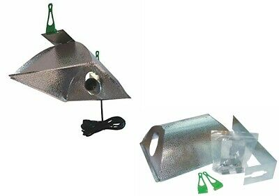 LUMii OPTii Closed Ended Grow 600w HPS MH Light Tent Reflector Hydroponic