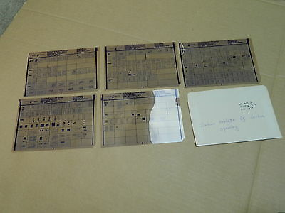 vintage Microfiche Mikrofilm manual: HP: SPECTRUM ANALYSER TF SECTION 8551B 974