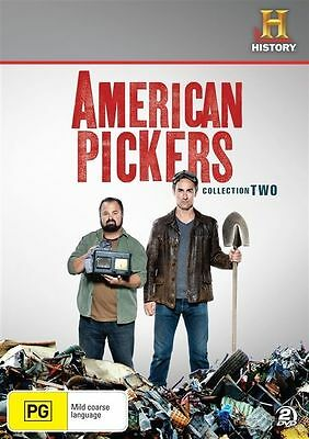 American Pickers : Collection 2 (DVD, 2012, 2-Disc Set) Region 4