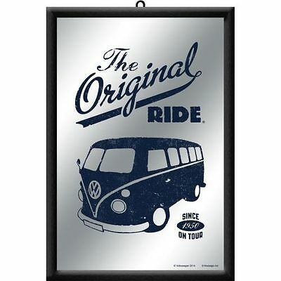 Framed Bar Mirror VW KOMBI BUS The Original Ride 20x30cm Combi Licensed Product