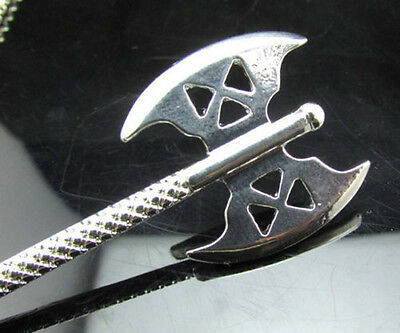 HOBBIT GIMLI'S Axe Unique Pendant Chain Necklace THE LORD OF THE RINGS WARRIOR
