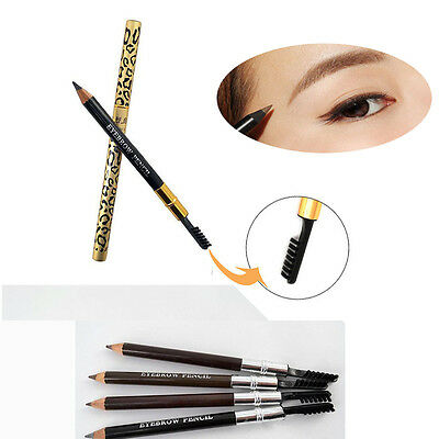 Eyebrow Pencil Authentic Waterproof Anti-Perspiration Shading With Eyebrow Brush