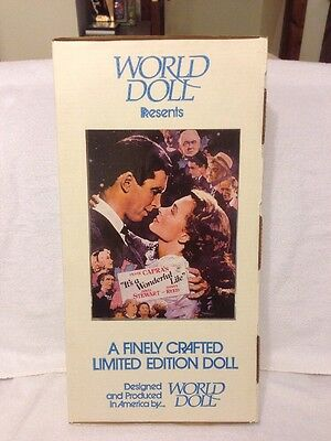 "World Doll Presents James Stewart As George Bailey In ""Its A Wonderful Life"""
