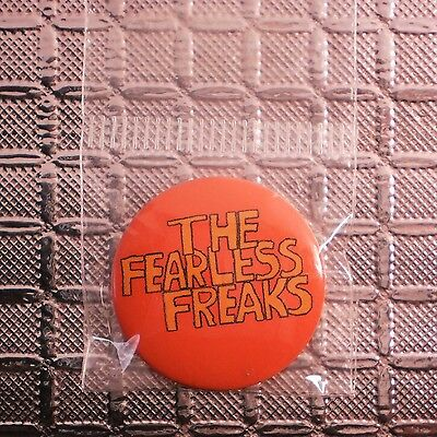 The Flaming Lips Fearless Freaks Promo Pinback Button NEW OFFICIAL badge pin