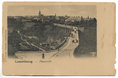 "CPA "" LUXEMBOURG - Passerelle"
