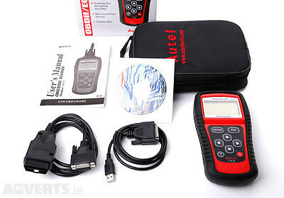 Autel Maxiscan Ms509 Obd2 Car Van Fault Light Tool Computer Eobd Diagnostic Code