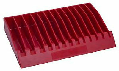 Lisle 40490 Pliers & Wrenches Rack/storage Holder  Red Color
