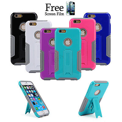 Heavy Duty Tough Cover Case With Stand  for Apple iPhone 6 6 Plus