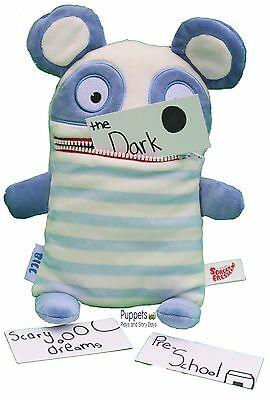 Sorgenfresser Worry Eater Bill Large Worry Monster Toy SEN Anxiety Autism KS1/2