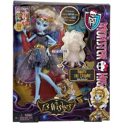 Monster High Abbey Bominable 13 Wishes Moroccan EXCLUSIVE Doll Haunt the Casbah